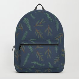 A Walk In The Pine Forest Pattern Backpack
