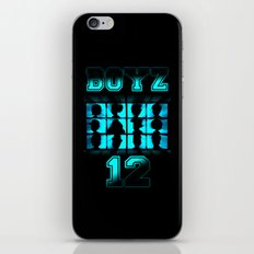 BOYZ 12 iPhone & iPod Skin