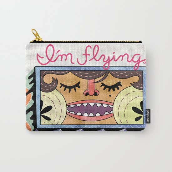I'm Flying! Carry-All Pouch