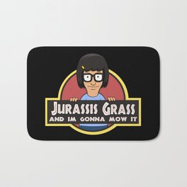Jurassis Grass (Your ass is grass) Bath Mat