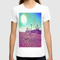 santa monica T-shirts featuring Santa Monica by SefoG