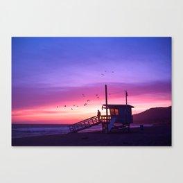 Sunset Tower Canvas Print
