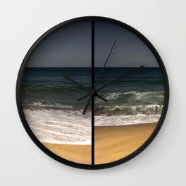 Breathing In Breathing Out Wall Clock