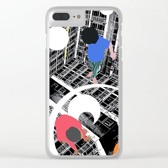 Convenient square Clear iPhone Case