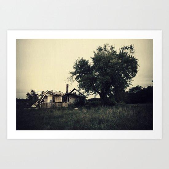 The Westervelt Cottage  Art Print