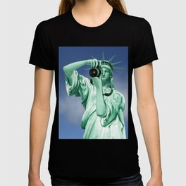 Say cheese for Liberty! T-shirt
