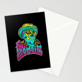 Fear the Zombie Stationery Cards
