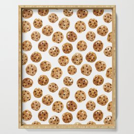 Watercolor Cookies Serving Tray