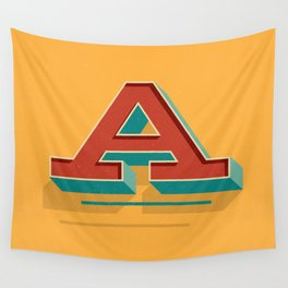 A is for... Anything Wall Tapestry