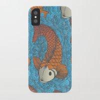 koi iPhone & iPod Cases featuring KOI by Matthew Taylor Wilson