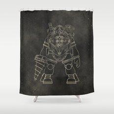 Big Daddy: BioShock Shower Curtain
