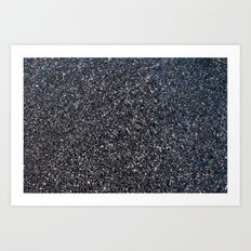 Black Sand I Art Print