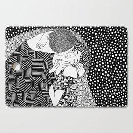 Gustav Klimt - The kiss Cutting Board