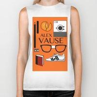 alex vause Biker Tanks featuring Alex Vause Poster by Zharaoh