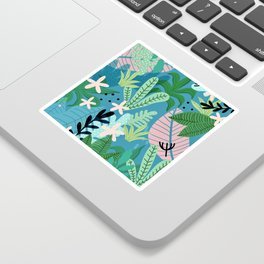 Into the jungle - twilight Sticker