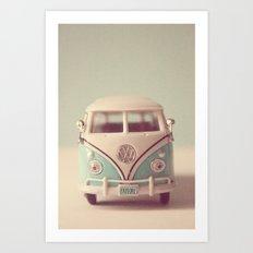 VW Explore Art Print