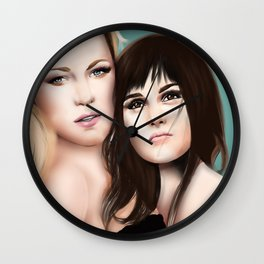 Blake and leighton Wall Clock