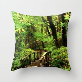 Bridge To A Fairy Tale Throw Pillow