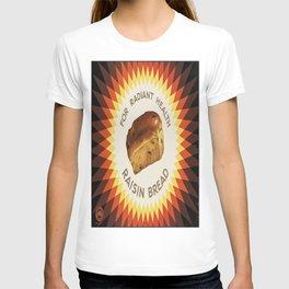 Vintage poster - Raisin bread T-shirt