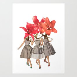 The Day Lilies Art Print