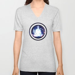 Meditation Light Body Unisex V-Neck