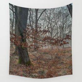 Misty Oaks Wall Tapestry