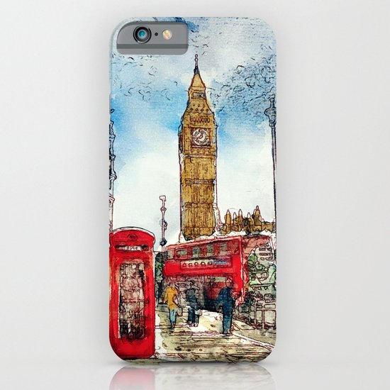 London Icons iPhone & iPod Case