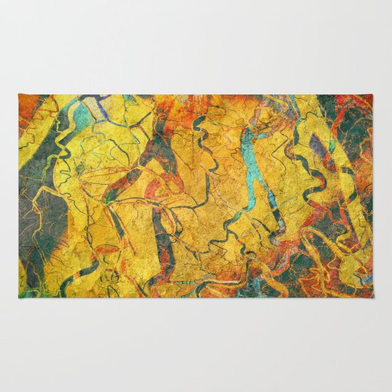 Cave Drawing Rug