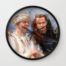 Golgotha 2 Wall Clock