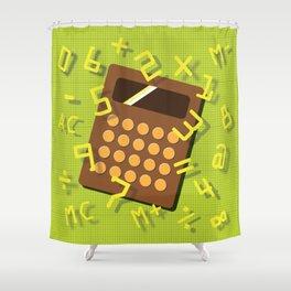 Numeric Escape Shower Curtain