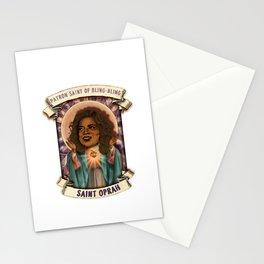 Saint Oprah Stationery Cards