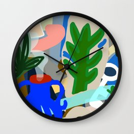 The Blue Jug Wall Clock