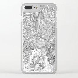 Kowloon walled city. Hong Kong Clear iPhone Case