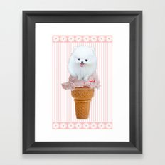 Two scoops Framed Art Print