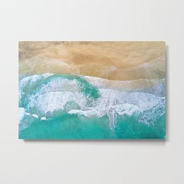 Norway Ocean Shore Metal Print