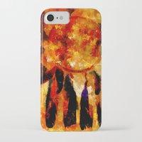 dreamcatcher iPhone & iPod Cases featuring Dreamcatcher by valzart