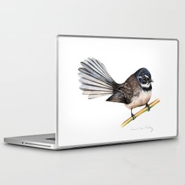 New Zealand Fantail Laptop & iPad Skin