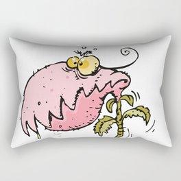cannibal plant Rectangular Pillow