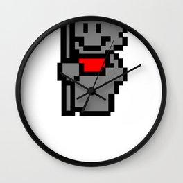 Tanooki Stone Suit Wall Clock