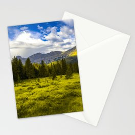 Yellowstone National Park Mountains Landscape Wyoming Montana Print Stationery Cards