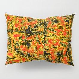 Golden Red Pillow Sham
