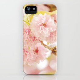 Pink Flower Photography | Shabby Chic Blossoms iPhone Case