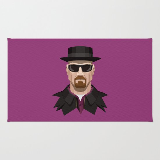 Breaking Bad - Heisenberg Rug