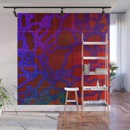 Hidder Matrix Under Stress Wall Mural