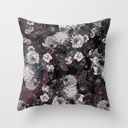 Night Garden XXXIV Throw Pillow