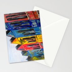 Rainbow Row Stationery Cards