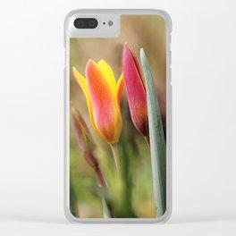Tender slender surprise Clear iPhone Case