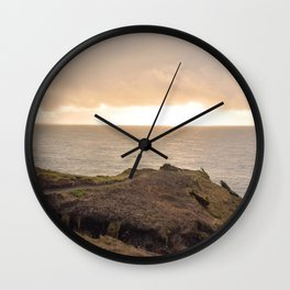 Lower Promontory Neahkahnie Footpath Wall Clock