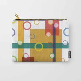 Crazy Geometry Carry-All Pouch