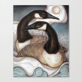Canda Geese Canvas Print